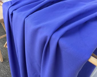 164 Yards Purple Vintage Rayon Fabric Periwinkle Dress Skirt Shirt Pants Shorts Fashion Apparel Quilting Curtains Pillow Apron Home Decor