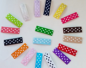 Choose colors: Baby snap clips,baby hair clippie,itty bitty clips, girls hair clippie, infant snap clips, fine hair clips