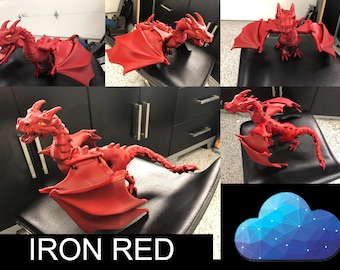 Mighty, Magical, Mystical Dragon! BJD Dragon Doll/Action Figure - Ball Jointed/ Articulated - 3D Printed, Hand Assembled