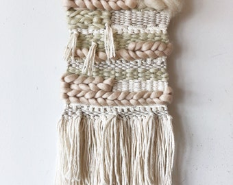 Custom Order Wall Weaving