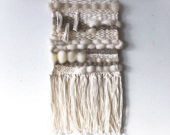 Neutral Mini Wall Weaving