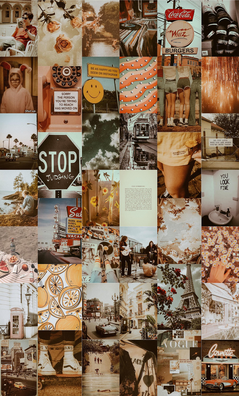 Dreamy Vintage Aesthetic Collage Kit Boho Aesthetic Photo ...