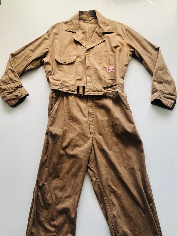 Rare 1940s/50s Workwear Pioneer Industri-All's Ta… - image 6