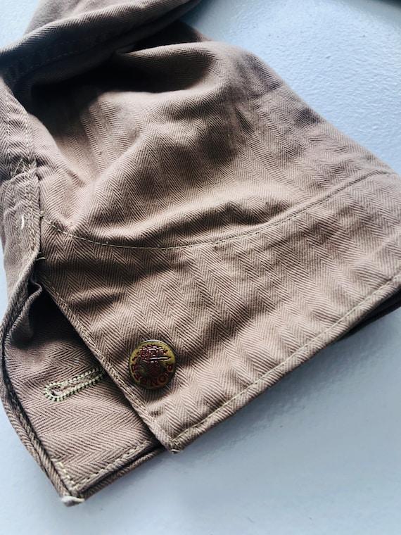 Rare 1940s/50s Workwear Pioneer Industri-All's Ta… - image 7