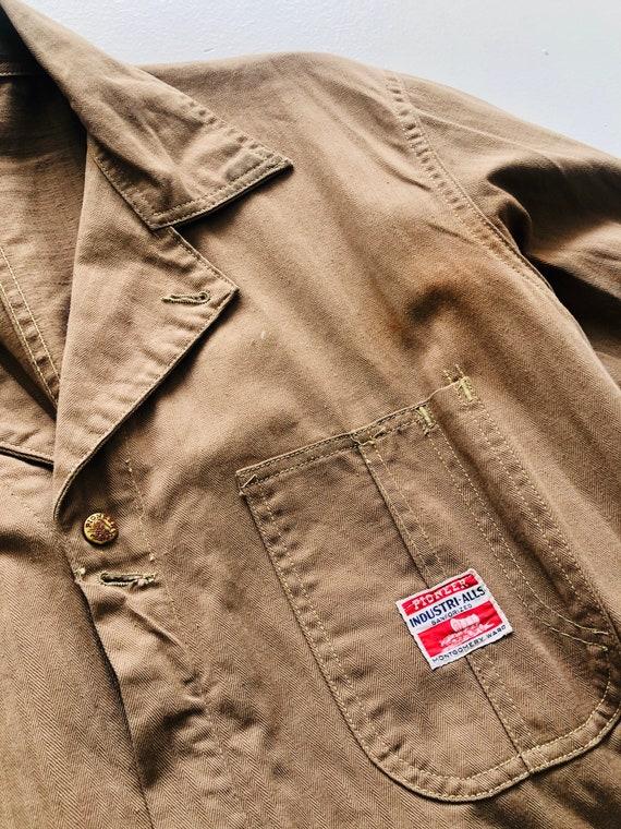 Rare 1940s/50s Workwear Pioneer Industri-All's Ta… - image 3