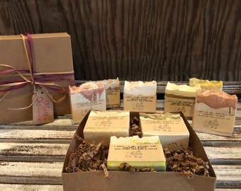 Any 3 goat milk soaps gift pack