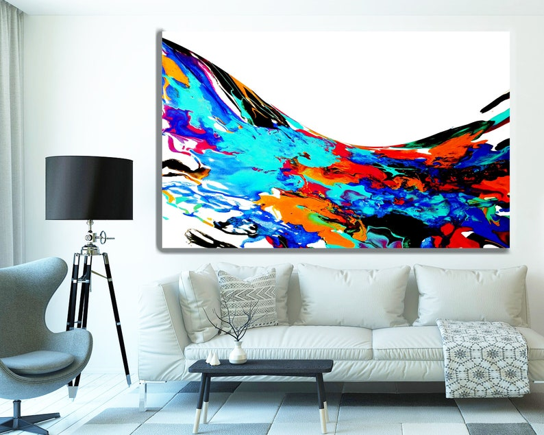 wall art decor for living room.htm acrylic pour painting extra large oversized wall art custom etsy  extra large oversized wall art custom