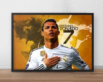 Cristiano Ronaldo CR7 Poster