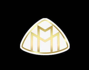 Maybach Logo - Sticker - Car Emblem - DieCut