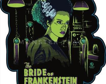 Bride of Frankenstein Stickers