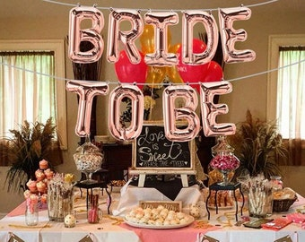Bridal Shower Balloons Etsy