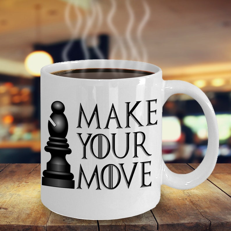 Make Your Mug Can Move Chess Be Travel Players 1115oz Available Customised Coffee k0wPXO8n