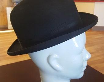 960d88ff369 Cavanagh Black Bowler Derby Hat