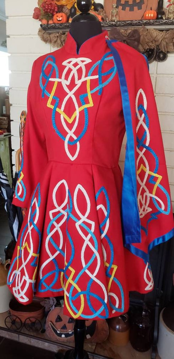 Traditional Irish Dance Dress - image 3