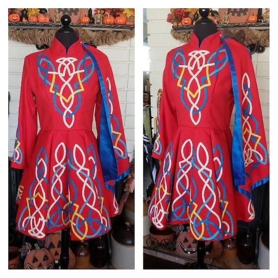 Traditional Irish Dance Dress - image 1