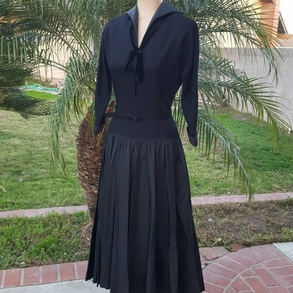 Vintage 40s/50s  Mademoiselle Juliette Dress