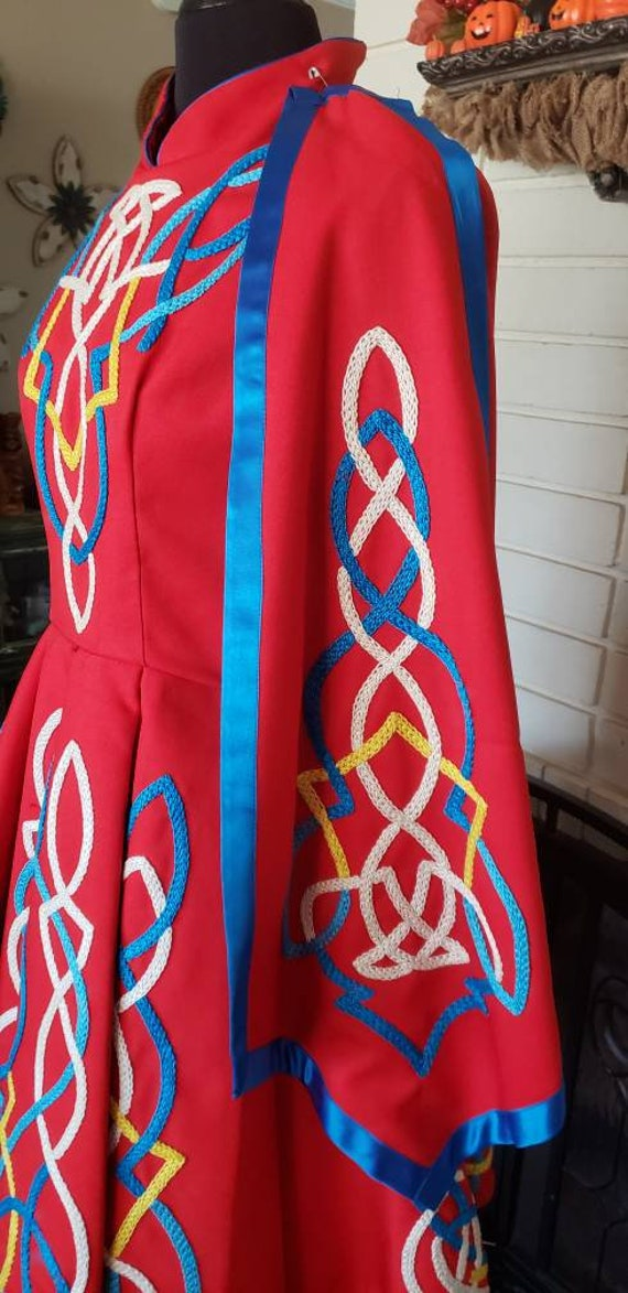 Traditional Irish Dance Dress - image 2