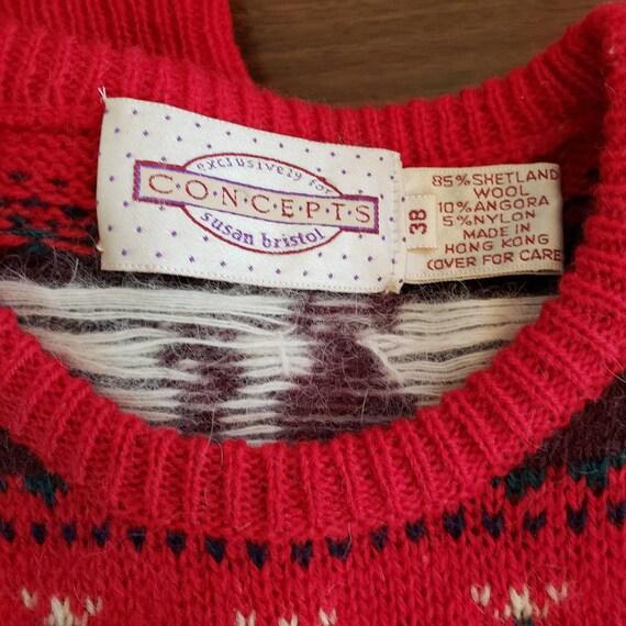 Vintage CONCEPTS Susan Bristol Sweater - image 7