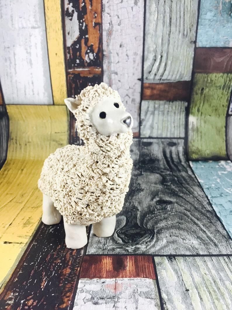 Ceramic Alpaca Llama