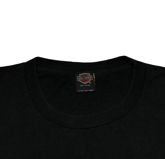 Vintage Harley Davidson Eagle East Side Tshirt - image 5
