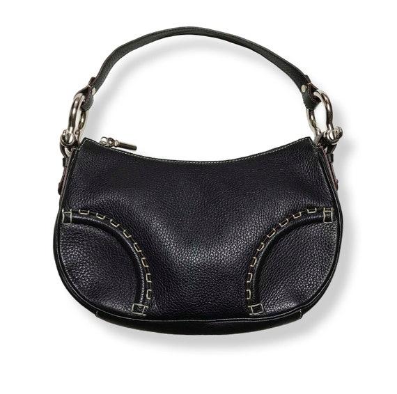 Burberry London Black Leather Bag