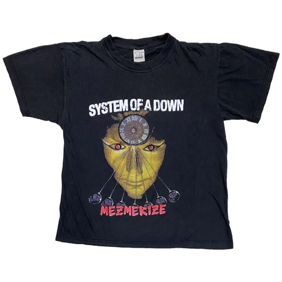 VINTAGE SYSTEM Of A DOWN Mezmerize tee