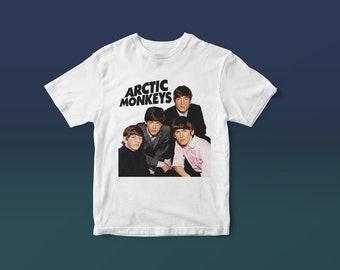 aaf33126803 Arctic Monkeys   The Beatles T-Shirt