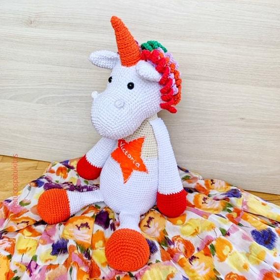 Unicornio Amigurumi - Patrón Escrito - YouTube | 570x570