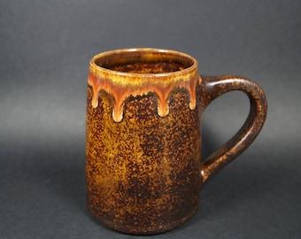 pottery mug, pottery, mug, ceramic mug, stoneware mug, handmade mug, handmade pottery mug, handthrown mug, coffee mug, big mug, tankard