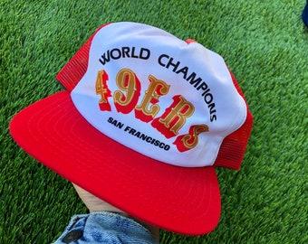 San Francisco 49ers meshback snapback hat dfc2aad4a056
