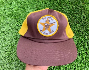 466956e37 ... rare 1978 san diego padres all star game snapback hat