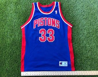 Stitched Authentic Detroit Pistons Grant Hill jersey sz 48 17a6141bd