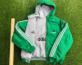 55e66df2b VTG Adidas reversible vintage jacket Small