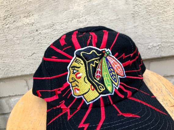 06995eb0d3250 Starter Chicago Blackhawks snapback hat