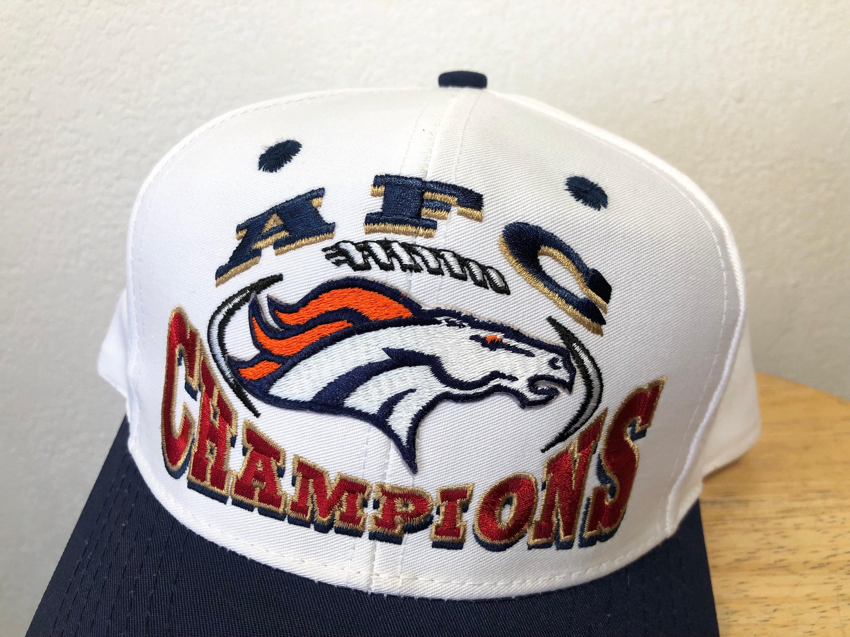 Denver Broncos AFC champions snapback hat  732428023