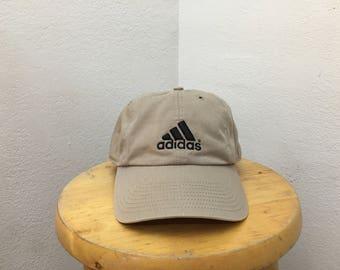 Adidas khaki strapback hat