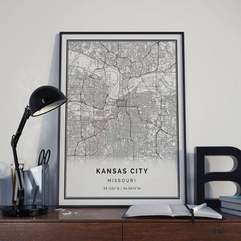 Kansas City map poster print wall art   Missouri gift printable download on historical railroad maps of missouri, map of arkansas, map of casinos in missouri, map of i 35 in missouri, map of nebraska, missouri map kirksville missouri, map of alabama, map of southern illinois and missouri, map of the plaza in kansas city, map of missouri towns, map of kansas state, map of missouri and neighboring states, map with major cities of missouri, map of country club plaza kansas city, physical map of missouri, map of i 70 in missouri, map of kansas online, map of highway 44 missouri, map nebraska and missouri, map of virginia and missouri,