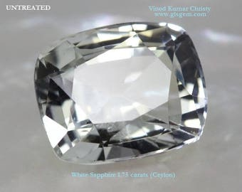 White Sapphire 1.75cts