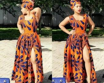 9f17bcd81e6 African print dress