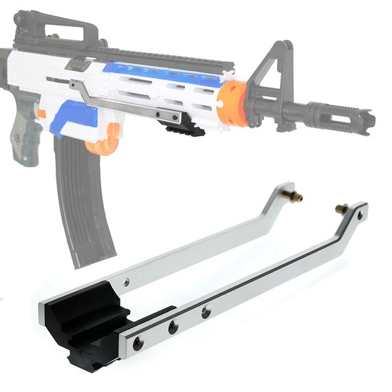 Mengun Mod Pump Kit Prime Rods Tactical Rail For Nerf Etsy