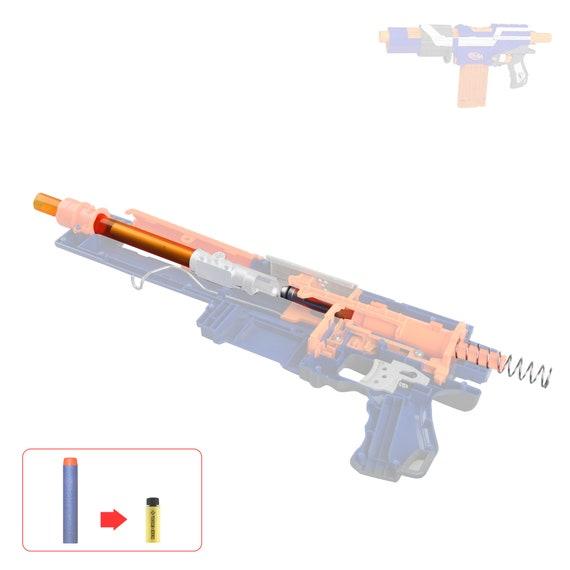 Worker Mod Short Dart Metal Stefan Tube Kit for Nerf Alpha Trooper Elite CS-12