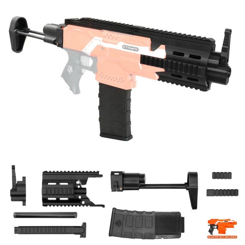 XSW Mod 3D Print HK 416C Carbine Imitation Kit Black for Nerf STRYFE Modify  Toy