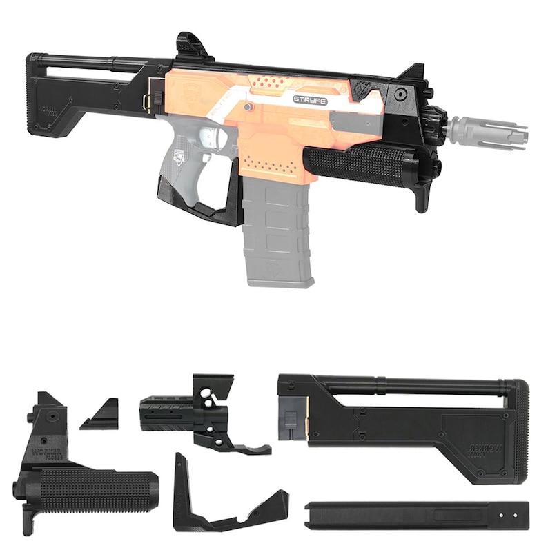 Worker F10555 Deus EX Widowmaker TX mao 3D Print Parts for Nerf STRYFE  Modify Toy