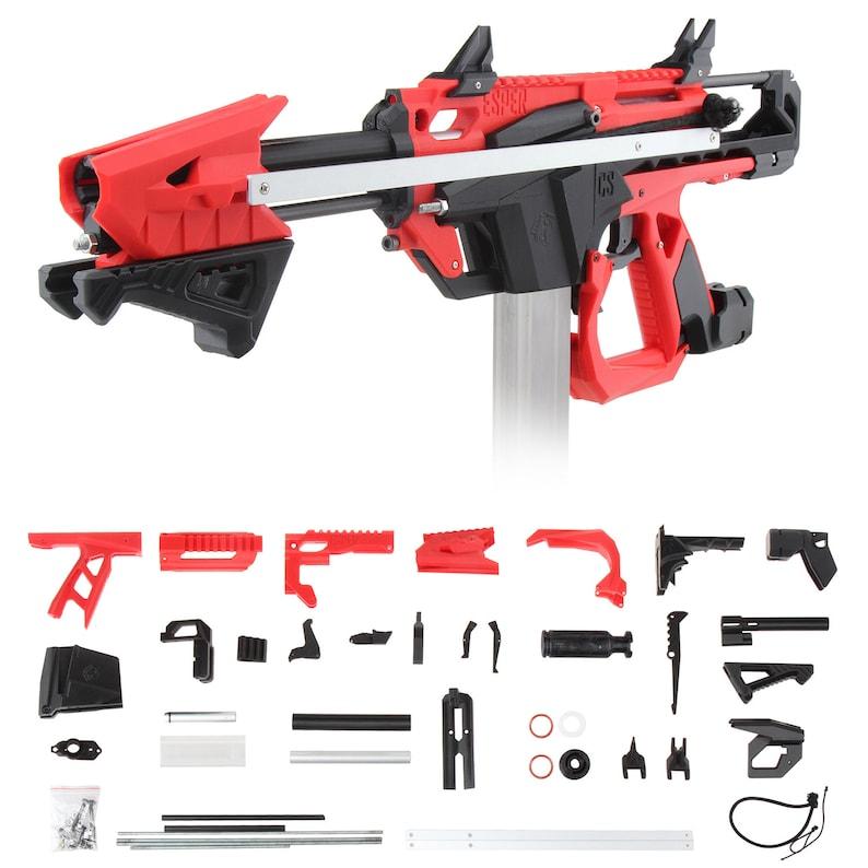 Worker MOD F10555 Pump Action ESPER 3D Print Stefan Blaster image 0