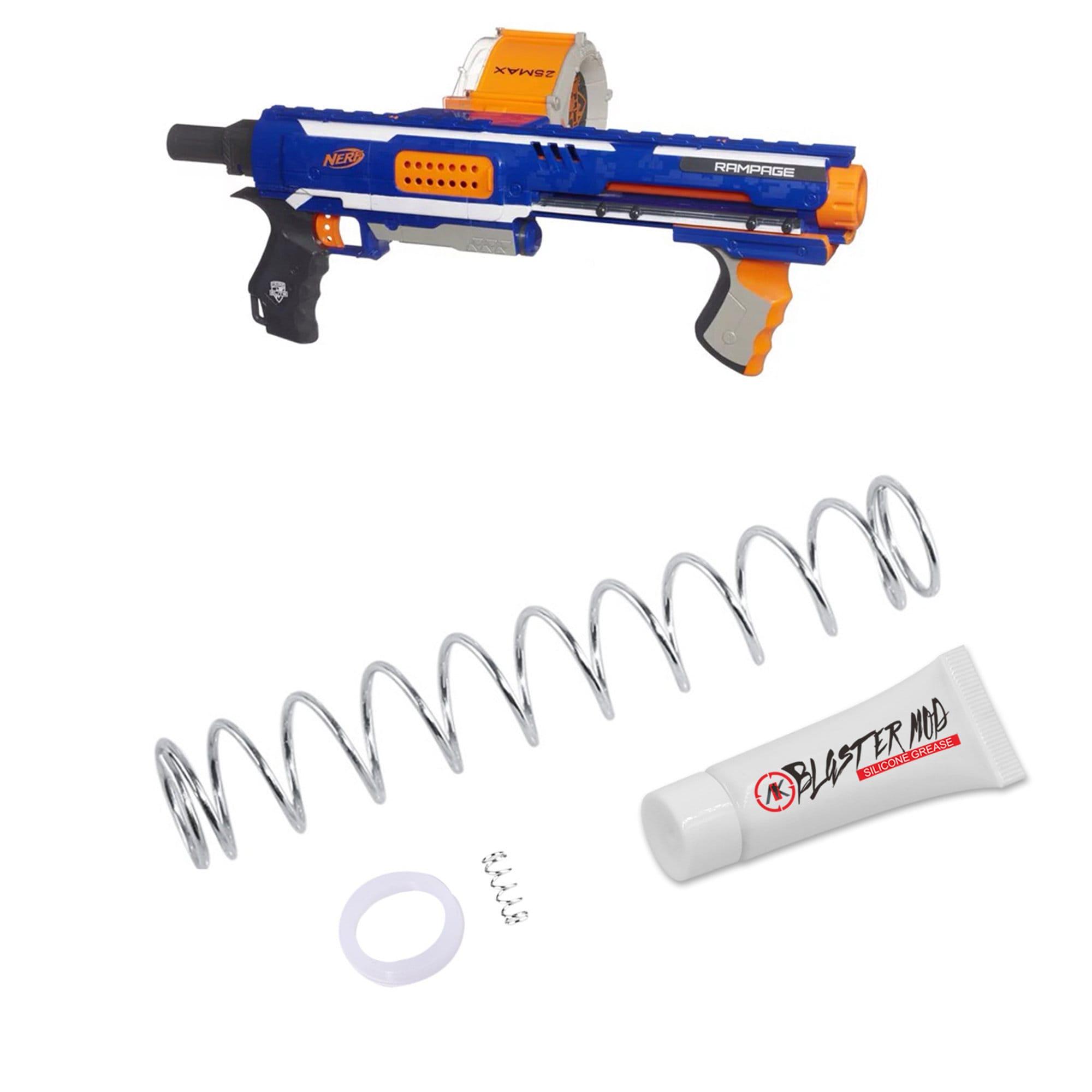 WORKER 7kg Modification Upgrade Spring Sets for Nerf N-Strike Elite Rampage Toy