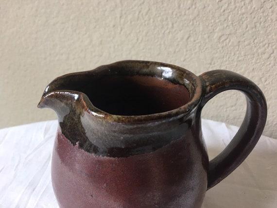 Hussey Art Pottery Pitcher