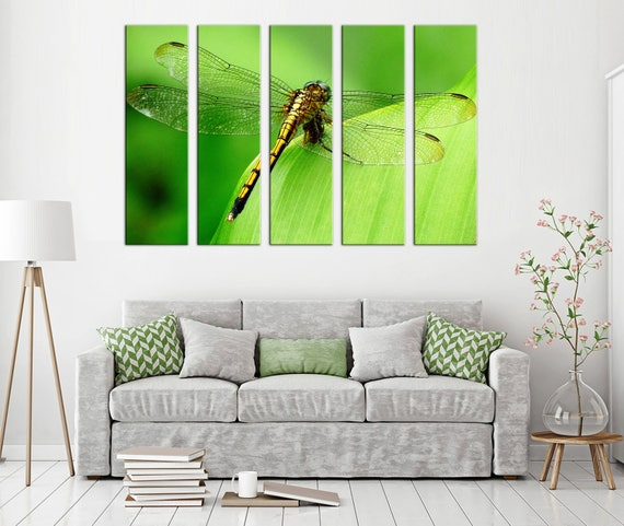 Dragonfly Canvas Print Wall Art Decor
