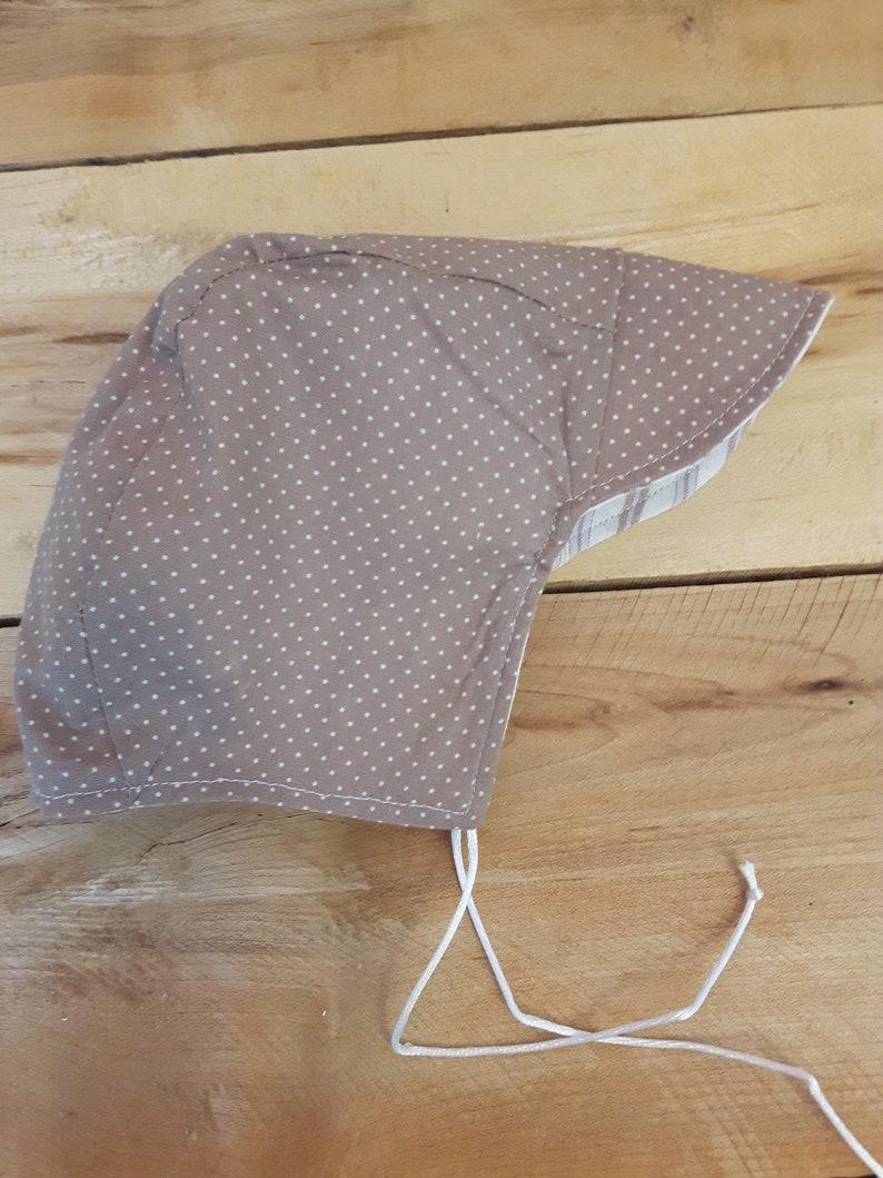 chapeau b\u00e9guin  fait main au Qu\u00e9bec  cadeau b\u00e9b\u00e9 ***** beguin hat  hand made in Quebec  baby gift