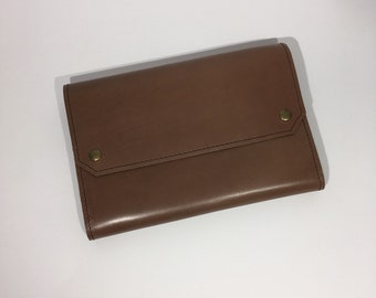 Retro leaf or companion all leather / Leather wallet