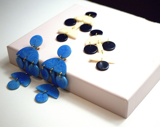 CHANDELIER TAGUA EARRINGS